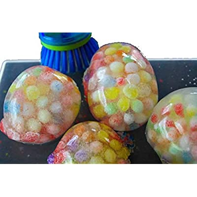 Inertia Water Beads : 13,600 Hydrophilic Polymers Water Balls Fun Experiments (Turquoise): Toys & Games