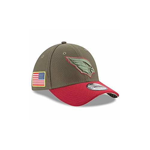 New Era Arizona Cardinals NFL 39THIRTY 2017 Sideline Salute to Service Hat