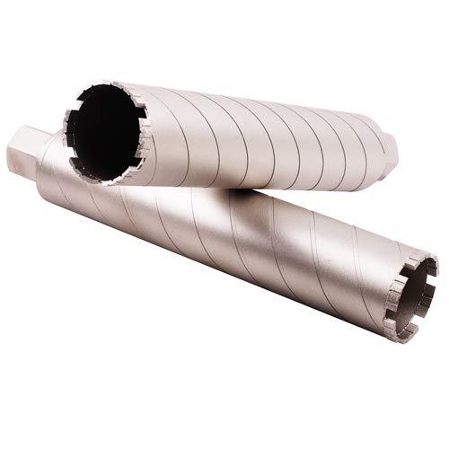 Diamond Core Bit - Turbo Seg Pro - Laser Welded - 15'' Long x 1-1/4''-7 Threaded for Hard Concrete, Granite, Cured Concrete, Reinforced Concrete, Block, Brick - Premium Quality (Diameter: 3 Inch) by Diamond Tools