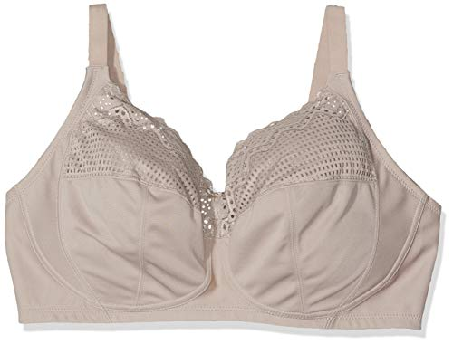 Glamorise Women's Full Figure Plus Size ComfortLift Support Bra #1103, Taupe, 48H