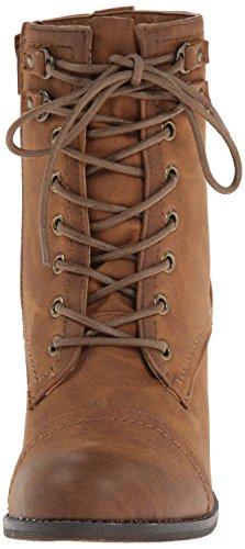 887865273226 - Madden Girl Women's Westmont Combat Boot, Cognac, 8.5 M US carousel main 3