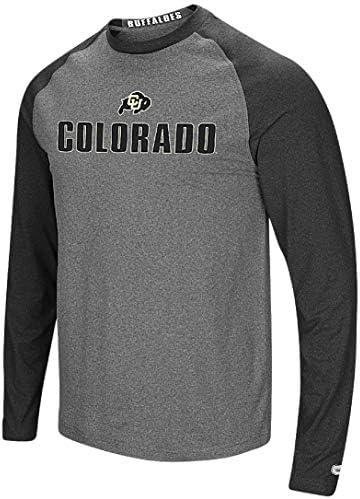 Colorado Buffaloes - Camiseta de Manga Larga para Hombre, Color Gris, Medium, Gris: Amazon.es: Deportes y aire libre