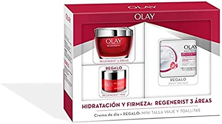 Olay - Regenerist 3 Áreas Pack Hidratación y Firmeza