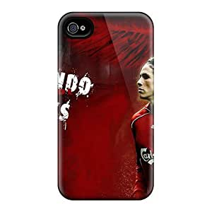 For Iphone 4/4s Fashion Design The Forward Of Chelsea Fernando Torres Case