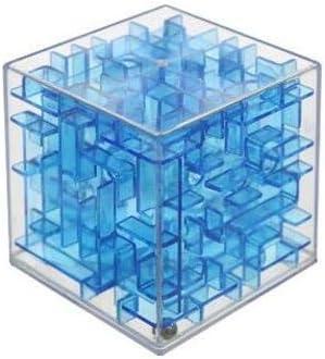 Cxjff Cubos mágicos - verde mágico laberinto rompecabezas del cubo de la velocidad del cubo 3d laberinto de bolas rodando juguetes rompecabezas de juego de aprendizaje de los juguetes for bebé no -