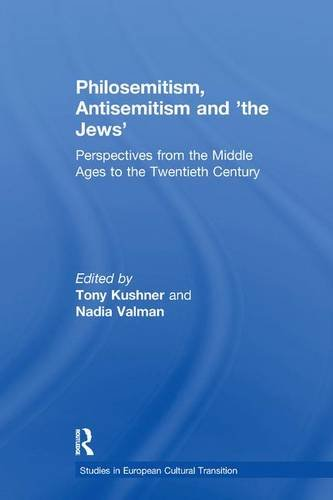 Philosemitism, Antisemitism and 'the Jews'