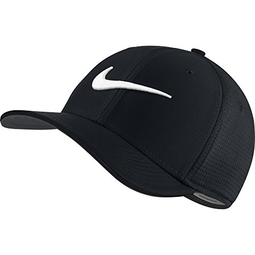NIKE Unisex Classic 99 Mesh Golf Cap, Black/Black/Anthracite/White, Small/Medium