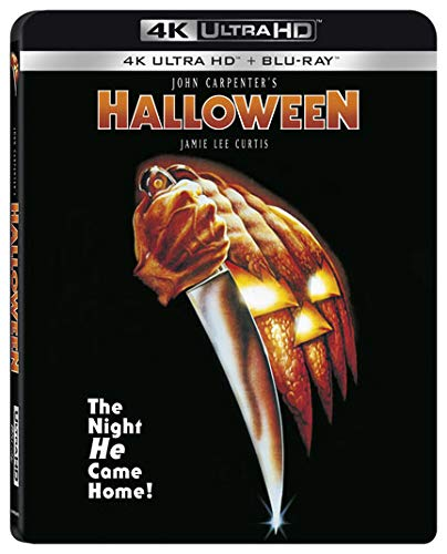 4K Blu-ray : Halloween (With Blu-ray, 4K Mastering, Widescreen, 2 Pack, Subtitled)
