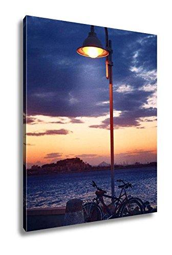 Ashley Canvas Denia Sunset Las Rotas In Mediterranean Spain, Wall Art Home Decor, Ready to Hang, Color, 20x16, AG6518764 by Ashley Canvas