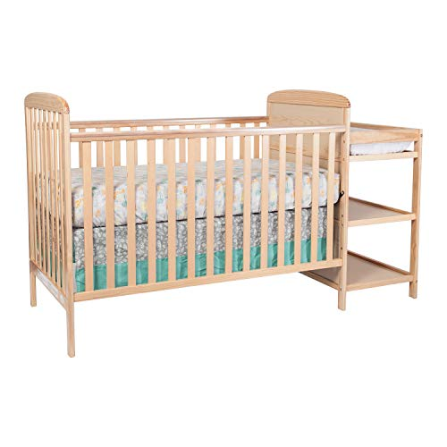Suite Bebe Ramsey 3 in 1 Convertible Crib and Changer, Natural
