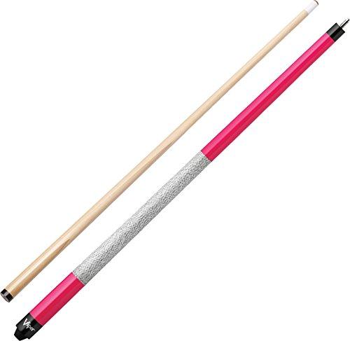 "Viper Signature 57"" 2-Piece Billiard/Pool Cue, Hot Pink"