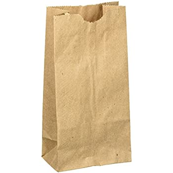 Amazoncom Extra Small Brown Paper Bags 3 x 2 x 6 party favors
