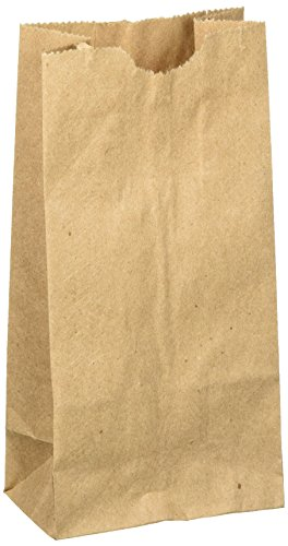 2 Paper Bags - WM Extra Small Brown Paper Bags 3 x 2 x 6