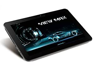 """ViewMax Tablet PC 10.1"""" RETINA IPS HD Touch Screen Dualcore RK3066 1.6GHz DDR3 1GB HDD 16GB WiFi 4X-GPU Graphic Accelerator G-Sensor 2MP Front and Back Camera Android 4.1 Aluminum Model VX-101P11C"""