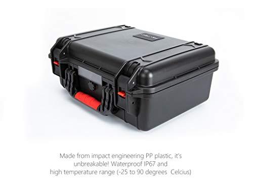 MOZATE PGYTECH Hardshell Shockproof Case Box Suitcase Bag for DJI Mavic 2 &Smart Controller (Black) by MOZATE (Image #6)