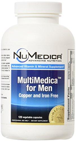 (NuMedica - MultiMedica for Men - 120 Vegetable Capsules)