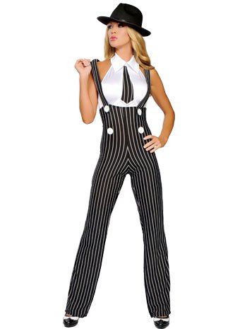 Sexy Gangsta Girl Costumes - Gangsta Mama Adult Costume -