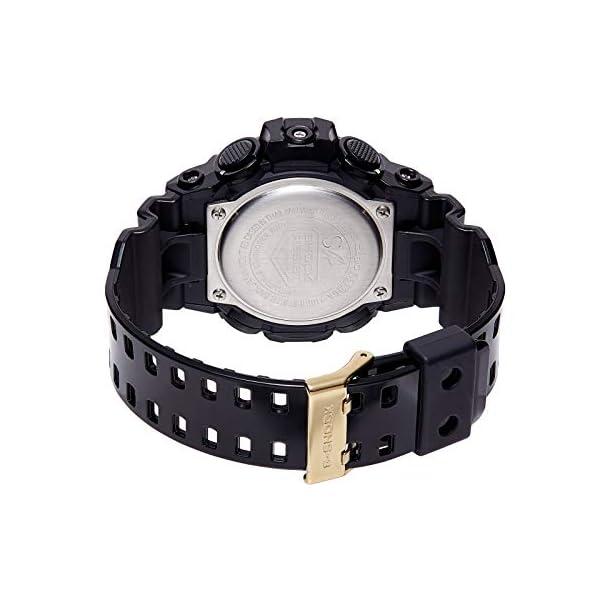 Casio Reloj Analógico-Digital para Hombre de Cuarzo con Correa en Resina GA-710GB-1AER 3