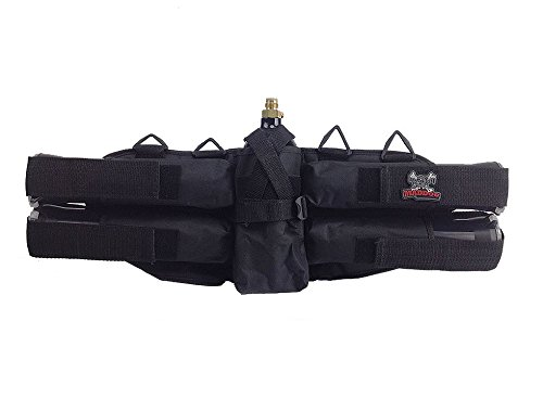 Maddog 4+1 Deluxe Padded Paintball Harness -