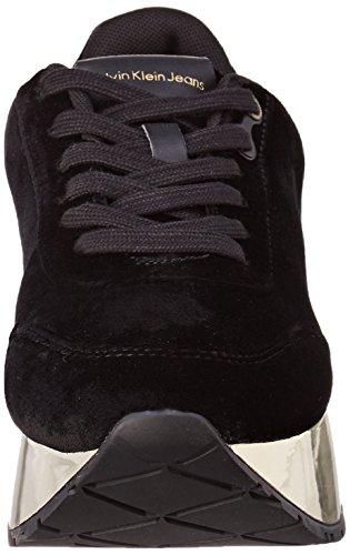Multicolore black Klein Femme Baskets gold Cate Velvet Calvin wgq7fXw