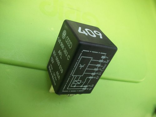 Volkswagen Fuel Pump Relay (VOLKSWAGEN JETTA FUEL PUMP RELAY 409 1J0 906 383 C)