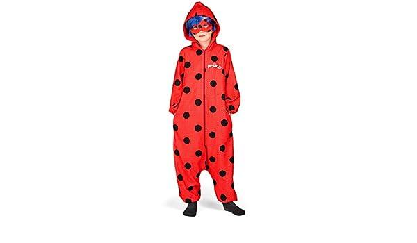 Disfraz de Miraculous Ladybug Pijama con Peluca para niña: Amazon ...