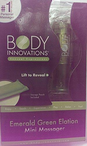 Body Innovations Emerald Green Elation Mini Massager