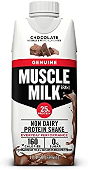 12-Count of Muscle Milk Genuine Protein Shake, 11 fl. oz. Cartons