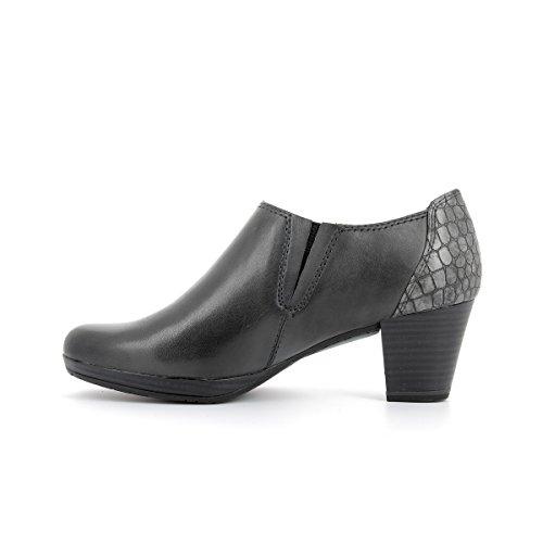 Marco Tozzi–Boots piel marco tozzi 24409–27–Botas/botines–36al 40 gris oscuro