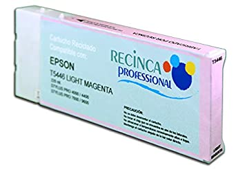 Cartucho reciclado Epson T5446 Magenta claro de 220 mililitros ...