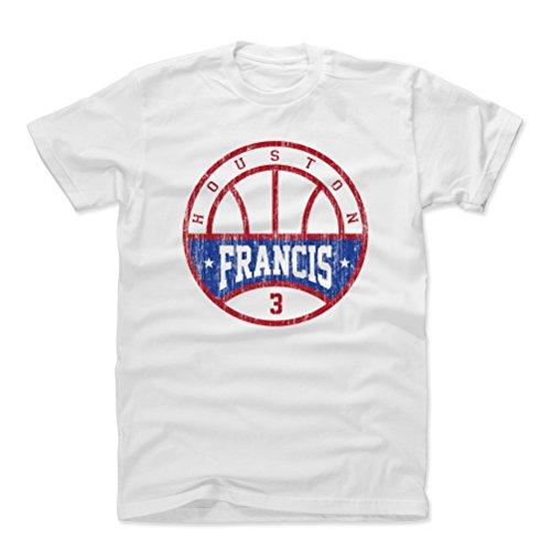 (500 LEVEL Steve Francis Cotton Shirt XXX-Large White - Vintage Houston Rockets Men's Apparel - Steve Francis Basketball B)