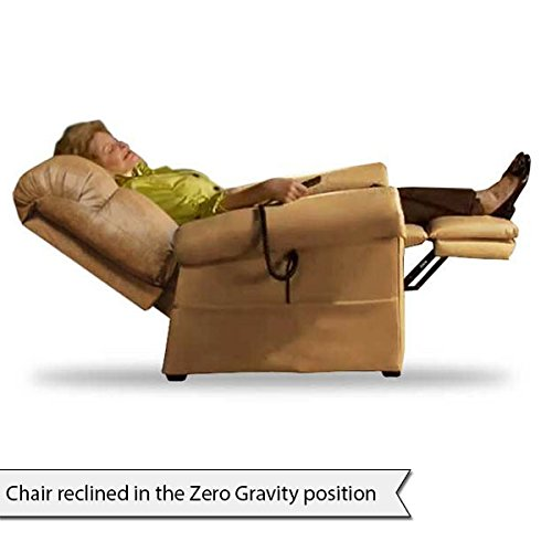 amazoncom the perfect sleep chair lift chair u0026 medical recliner duralux ii microfiber burgundy health u0026 personal care