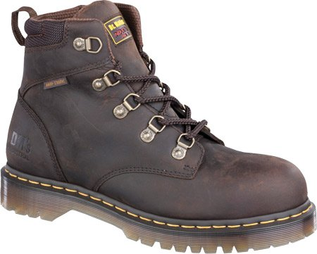 Dr. Martens Holkham Steel Toe Hiker,Gaucho,7 UK/9 M US Women