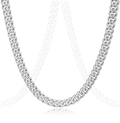 Luxury Silver Cuban Stainless Necklace product image
