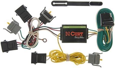 curt 55343 vehicle side custom 4 pin trailer wiring harness for select ford econoline, escape, mazda tribute, mercury sable Mazda Vans Minivans