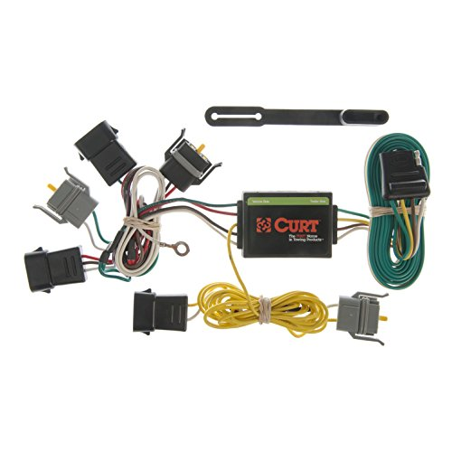 CURT 55343 Vehicle-Side Custom 4-Pin Trailer Wiring Harness for Select Ford Econoline, Escape, Mazda Tribute, Mercury Sable (Towing Mazda Tribute)