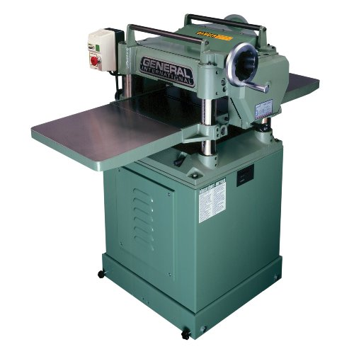 General International 30-125HCM1 3 HP 15-Inch Planer with Helical Cutterhead by General International