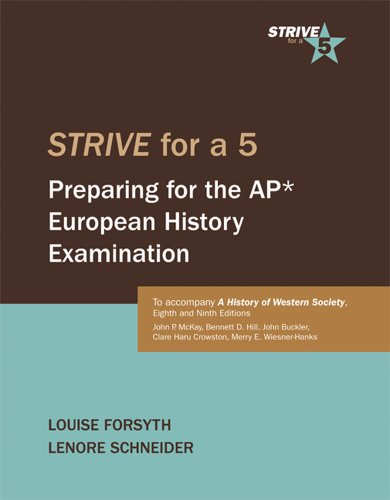 Strive for a 5: Preparing for the AP European History Examination
