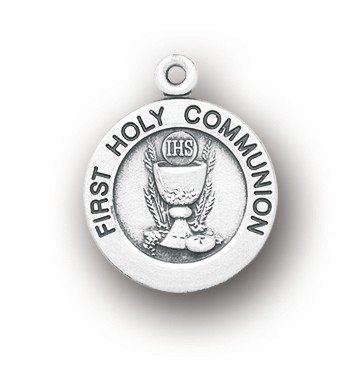 BERTOF BT-FC-04 First Holy Communion Medal 13/16