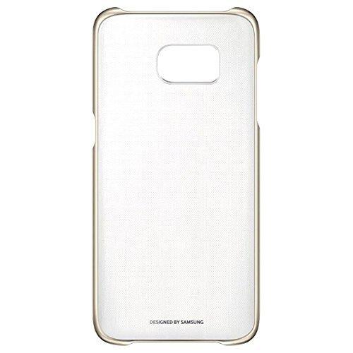 222 opinioni per Samsung Clear View Cover per Galaxy S7 Edge, Trasparente/Oro