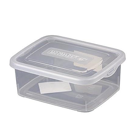 Curver Storage Box Storage Box With Lid 40L Clear MultiPurpose Stunning Decorative Plastic Storage Boxes