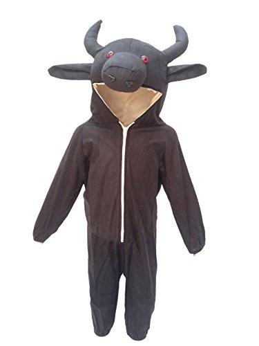 Buffalo fancy dress for kids,Farm Animal Costume for School Annual function