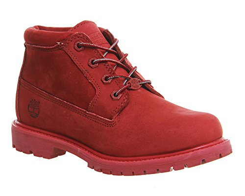 Timberland - Nelllle Chukka Double Red - A14G2 - Colore: Rosso - Taglia: 35.5