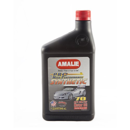 Amalie 65676 56 70w Pro High Performance Synthetic Blend Motor Oil 1 Quart Bottle Top True