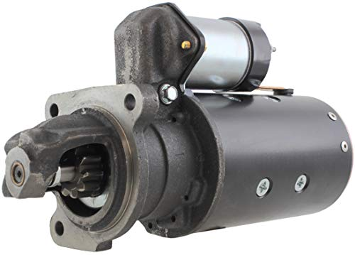 New Premium Starter Assembled & Load Tested in The USA!! Fits Allis Chalmers Farm Tractor 170/175 w/Perkins Diesel 1968-1980 79004848-2 79001810-5 1108696 201-27132 91-01-4245 1998341 4267N-USA -  Gladiator, 249694 3004558 2200073-64