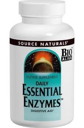 Source Naturals Essential Enzymes 500mg, Full spectrum diges