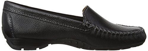 M Leather Paris Sanson De Black Florever Mocasines Mujer dogawa THwREEqpx