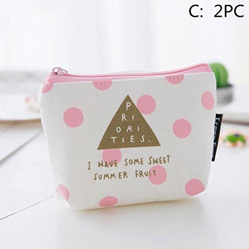 LtrottedJ Girls Cute Fashion Print Snacks Coin Purse Wallet Bag,Change Pouch Key Holder (Gucci Key Ring)