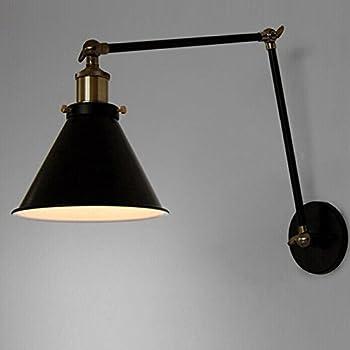 vintage industrial wall lamp loft creative swing arm sconce balcony stair porch restaurant bar bedroom wall light