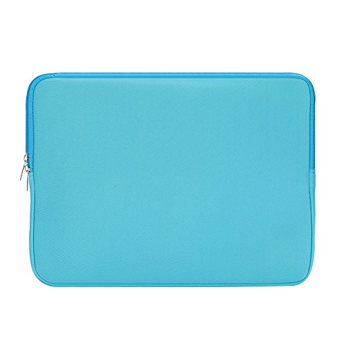 Inch 13 Notebook Bag Hanbaili Ultrabook Padded Inch Computer Pro Cover MacBook 13 Chromebook Lenovo Dell Laptop Asus Case Carrying Blue Toshiba ThinkPad Samsung for 13 Protective 5 Sleeve HP dPUZwP